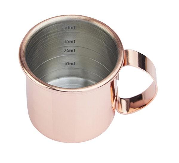Copper Straight Mini Jigger Mug *NGS