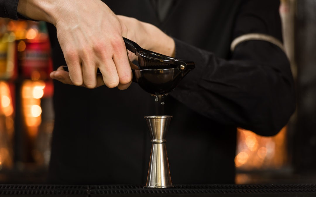 Use a jigger like a professional…