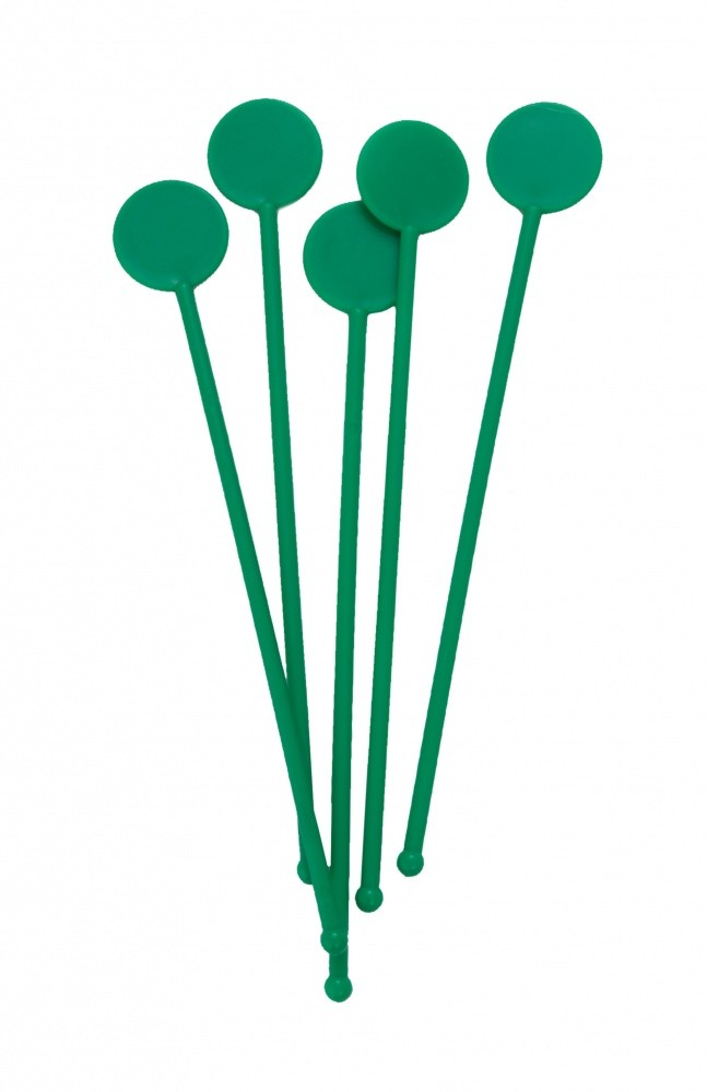 Clear Disc Stirrers pack of 250