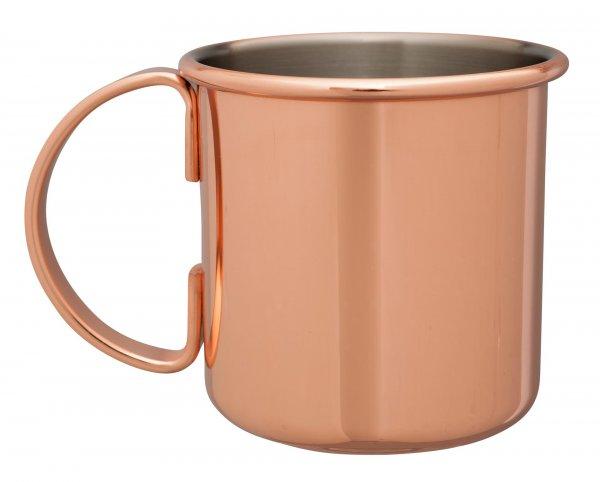 Mezclar 500ml Straight Moscow Mule Mug Copper Plated