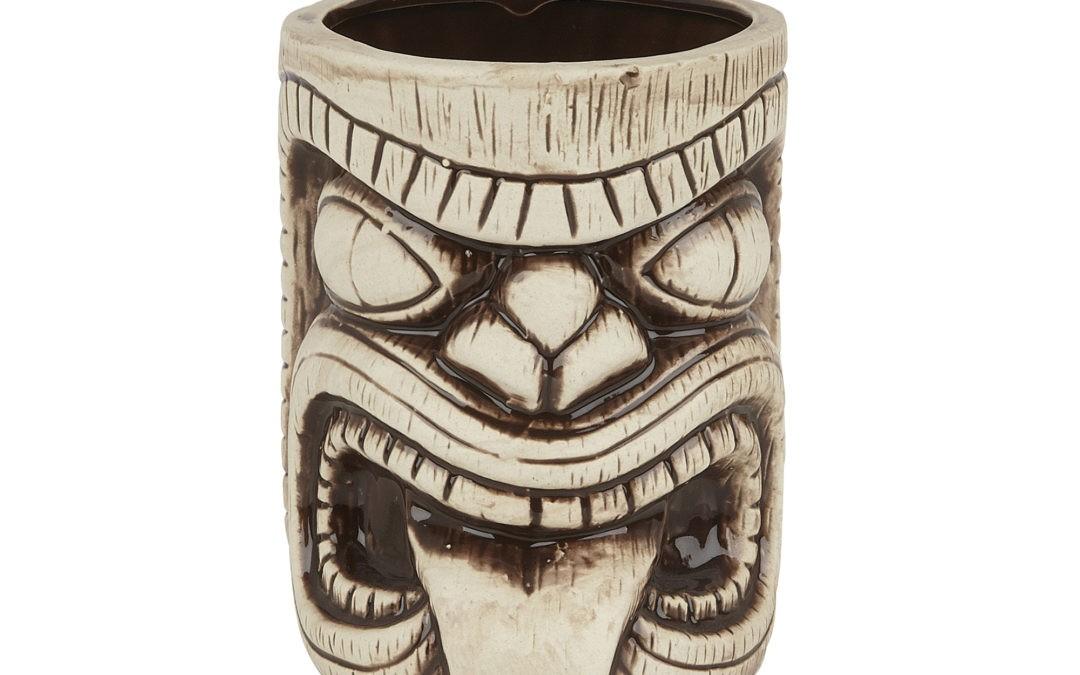 Handcrafted ceramic Tiki mugs