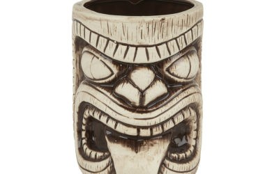 Handcrafted ceramic Tiki mugs