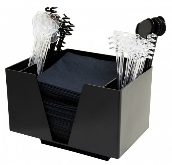 3473-3-Part-Bar-Organiser-Black-IN-USE