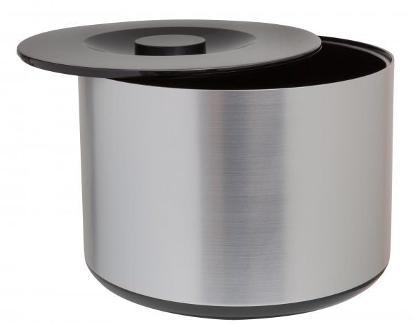 Large Brushed Aluminium Effect Ice Bucket