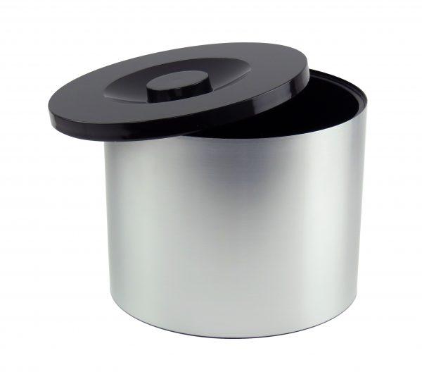 Small Brushed Aluminium Effect Ice Bucket