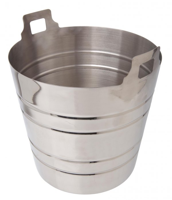 Stainless Steel Champagne Bucket 5 Litre/9 Pint