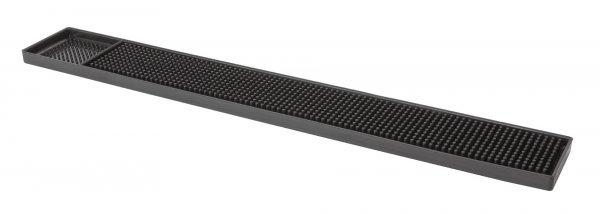 Deluxe Black Rubber Bar Mat 24″ x 3″