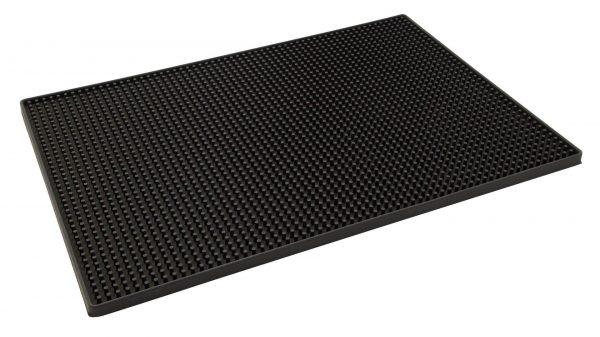 Deluxe Black Rubber Large Bar Mat 18″ x 12″