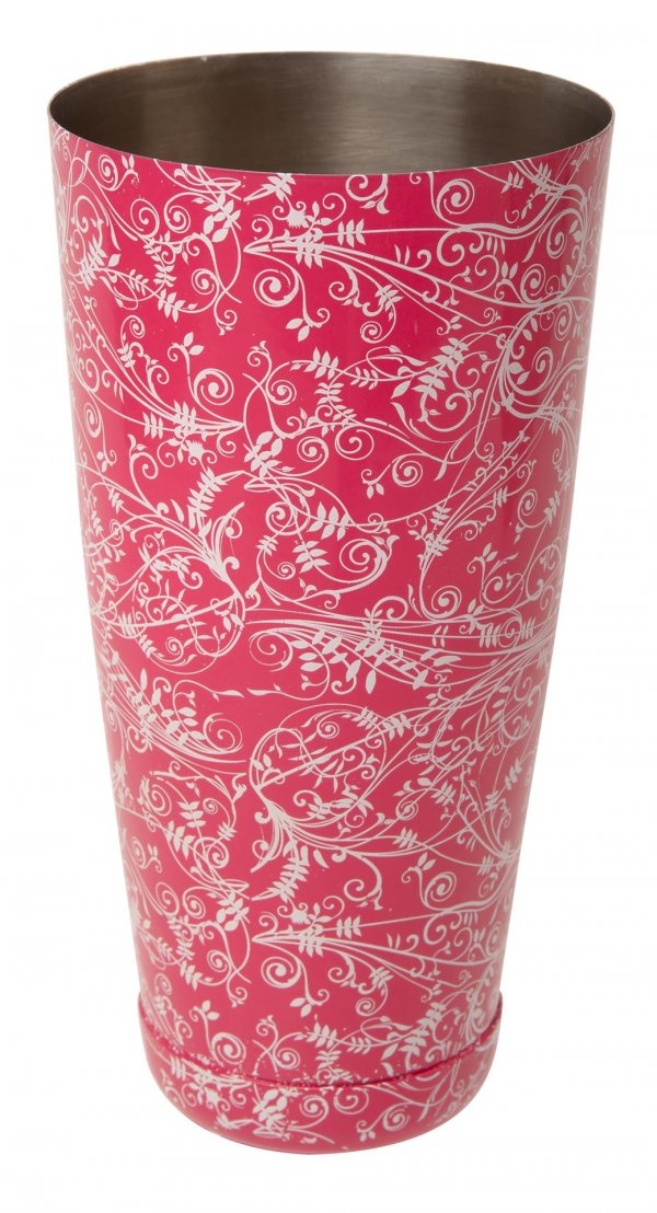 Mezclar Patterned 28oz Boston Can Pink – Delisted
