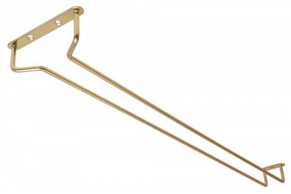 24″ Glass Hanger Brass