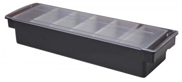 Plastic Condiment Holder 6 Compartment