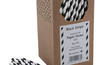 Now stocking a variety of paper straws…