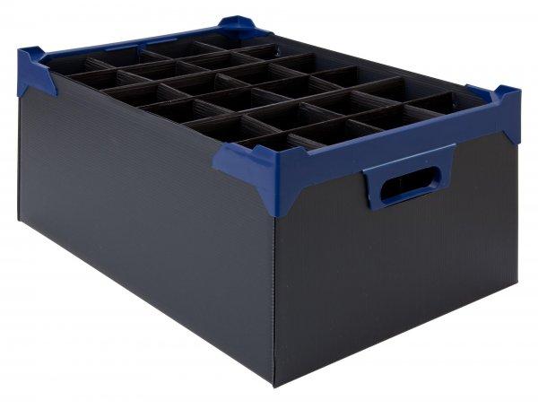Glassware Storage Box PK5 L500mm x W345mm  x H200mm