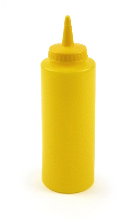 8oz Squeeze Bottle Yellow