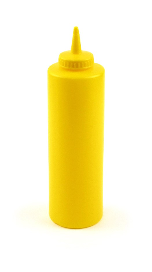 24oz Squeeze Bottle Yellow