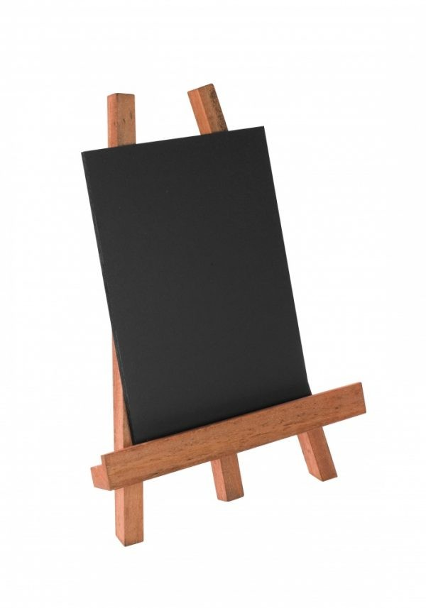 Table/Bar Top Easel For A4/A5 Boards Mahogany Finish