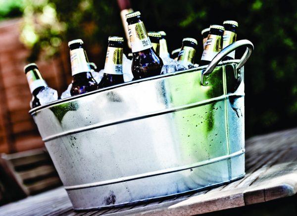 Galvanised Steel Beverage Tub 25 litre/44 pint