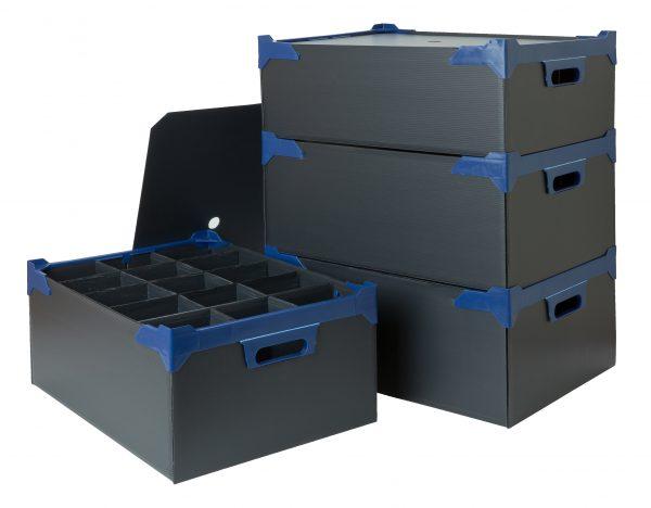 Glassware Storage Box PK5 L500mm x W345mm x H165mm