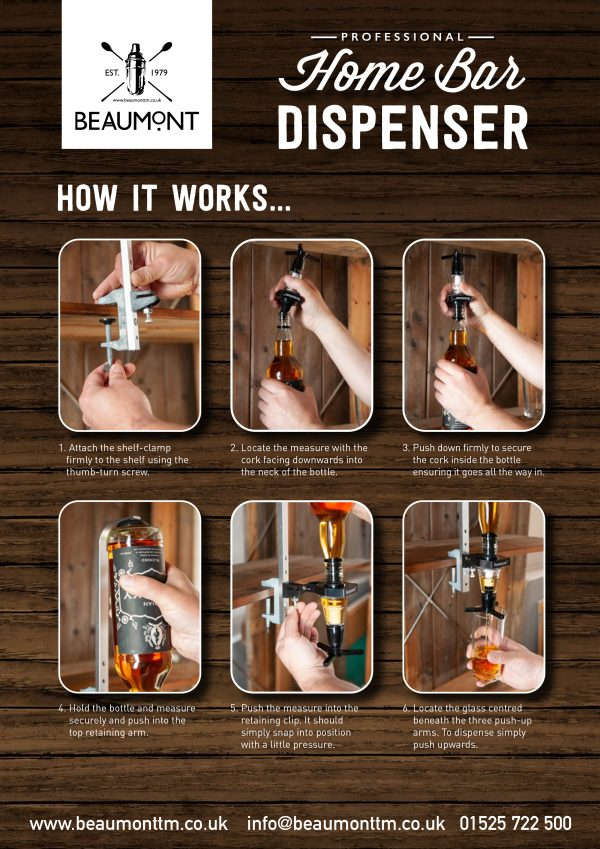 Professional Home Bar Dispenser