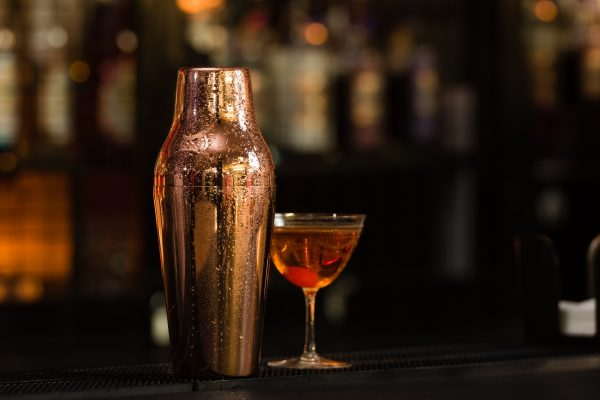 Mezclar 600ml French Shaker Copper Plated