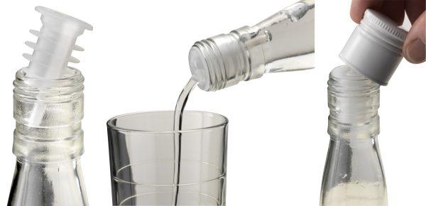 Cap-On Freeflow Disposable Pourer