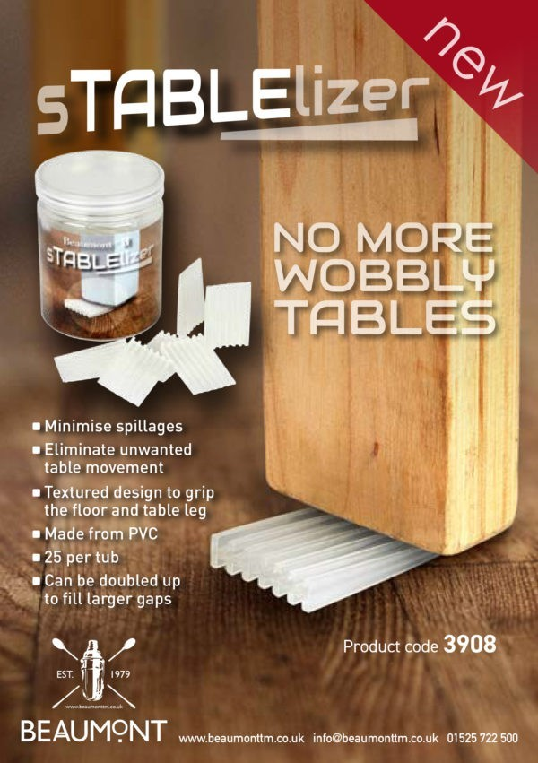 sTABLElizer Table Wedge PK25