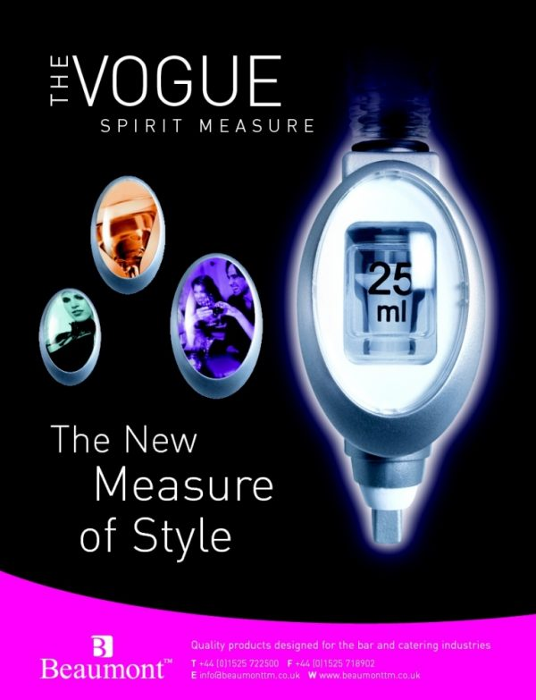 50ml Vogue Spirit Measure