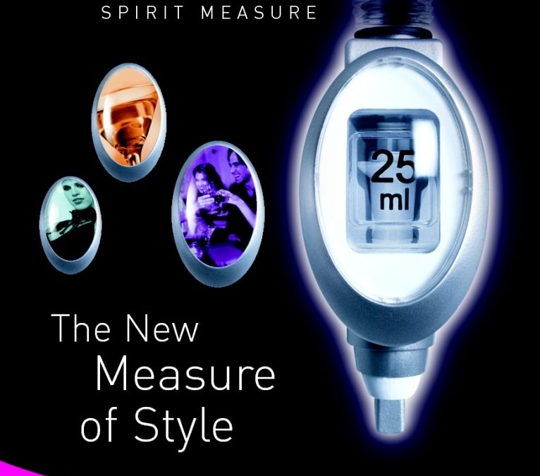 Is this the best looking spirit measure around?