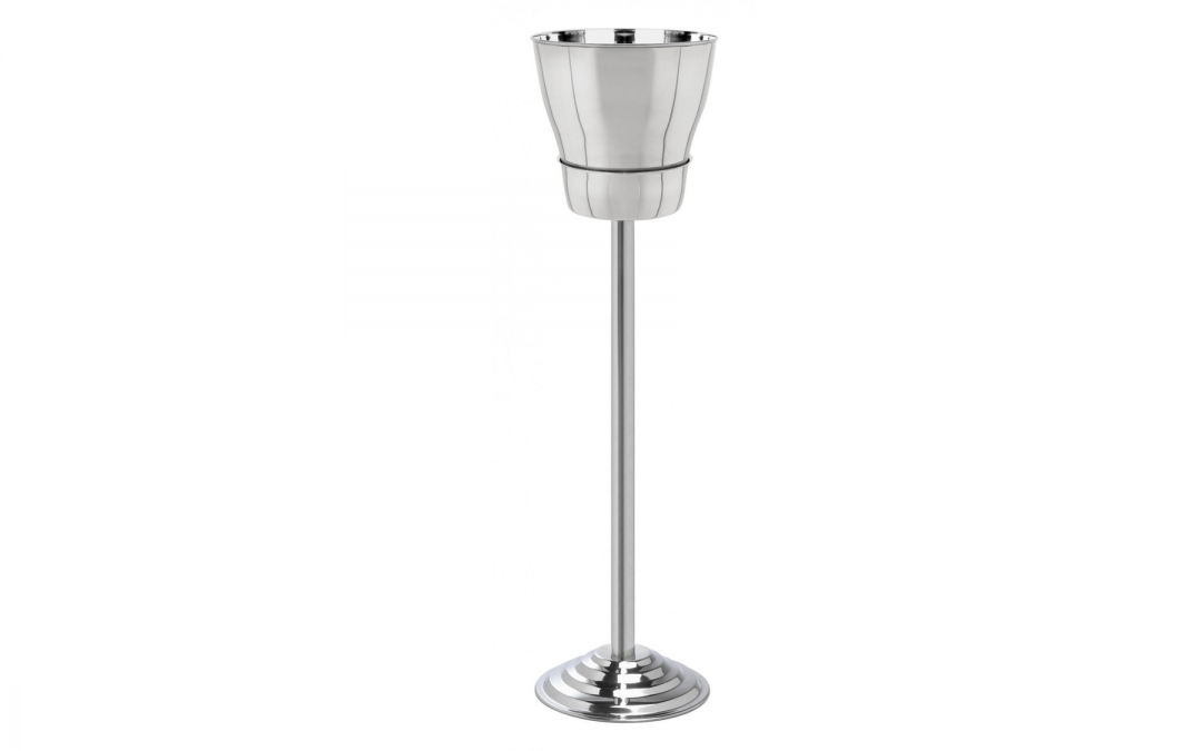 Back by popular demand: Classique wine & champagne bucket & stand