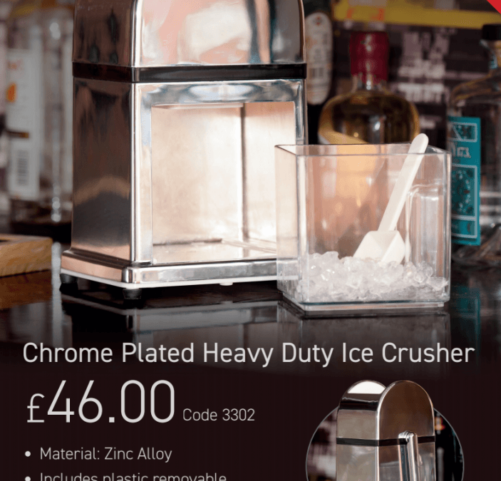 The all new ice crusher