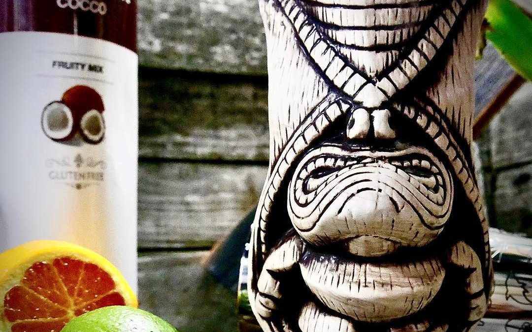Celebrate Pina Colada day with the perfect ingredients and a little Tiki